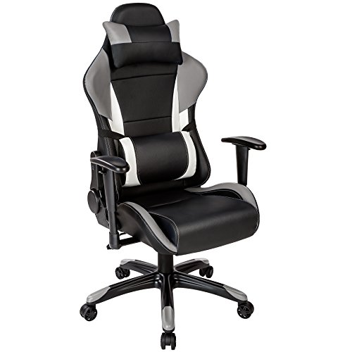 TecTake Poltrona sedia direzionale da ufficio racer racing classe di