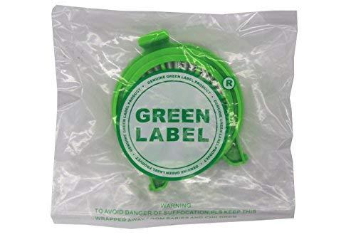 Zoom IMG-3 green label confezione da 2