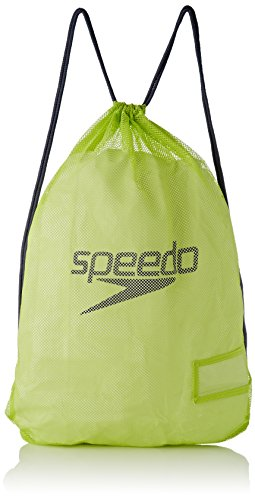 Speedo Equipment Mesh, Borsa Unisex Adulto, Multicolore (Lime Punch/Grey), Taglia Unica