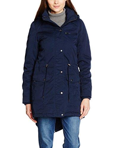 Desires Damen Parka Jacke Jacket - Anine-A long,, ,, , Gr. 36 (Herstellergröße: S), Blau ( Preisvergleich