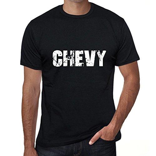 Chevy Uomo Maglietta Nero Regalo Di Compleanno Nero