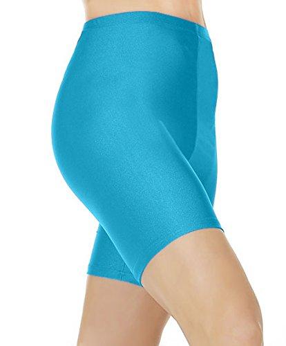 Amberclothing - Short - Femme Turquoise