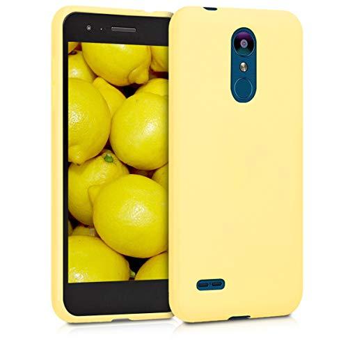 kwmobile LG K8 (2018) / K9 Hülle - Handyhülle für LG K8 (2018) / K9 - Handy Case in Gelb matt