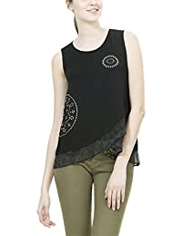 Desigual Ts_grecia, Camiseta para Mujer