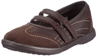 Chung Shi Duflex City Kate 8500610, Damen Ballerinas, Braun (dunkelbraun), EU 36.5 (UK 4)