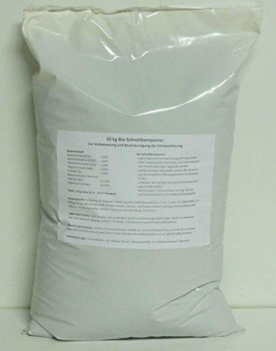 HaGaFe Bio Schnellkomposter Kompostbeschleuniger Komposthilfe Kompost, 10kg (1x10kg)