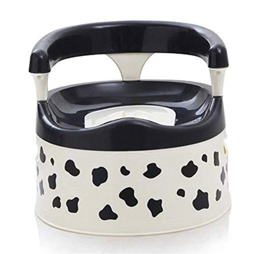 ZOUQILAI Kuh Farbe Potty Trainingsstuhl Kinder Kleinkind Anti-Rutsch-Töpfchen Kinder-WC-Töpfchen-Sitz spritzwassergeschützte - Kuh-stuhl
