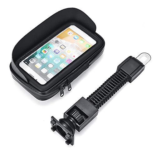 Preisvergleich Produktbild Viviance 4.7'' Waterproof Sun Shade Anti-Uv Cellphone GPS Holder Motorcycle Mount Case Bag