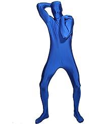 Faschingkostuem Ganzkoerper anzug Second Skin Suit Verkleidung Catsuit Komplett Zentai kostuem zweite Haut Fastnacht