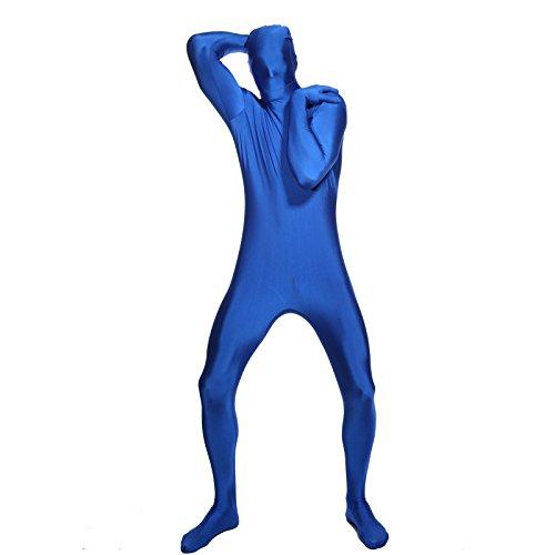 Zentai Anzug Skin (Faschingkostuem Ganzkoerper anzug Second Skin Suit Verkleidung Catsuit Komplett Zentai kostuem zweite Haut)