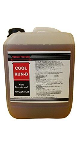 Optimal Kühlschmierstoff 5 Liter Kühl-Schmierstoff CoolRunB Bohrmilch Konzentrat *formaldehydfrei*