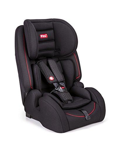 Piku globe silla de coche grupo 1 2 3 isofix negro rojo a buen precio - Piku silla coche ...