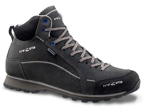 TREZETA Shoes Uomo Flow Wp MID Anthiracite Grey Antracite-Grey