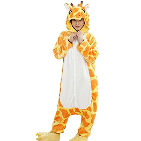 Pyjama Grenouillere Girafe - Unisex Adult Kigurumi Pyjamas Animaux Onesie Girafe