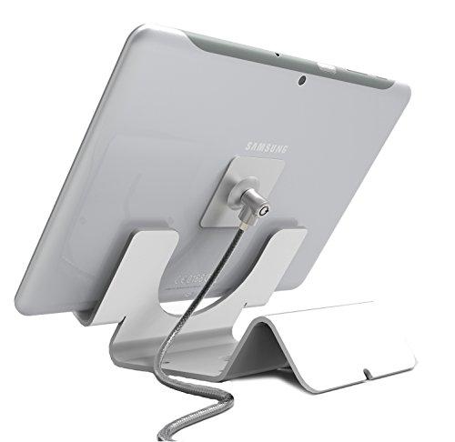 Maclocks CL15-IPAD-PLATE-LOCK-1 Universal Sicherungsplatte für Tablet und Smartphone Silber -