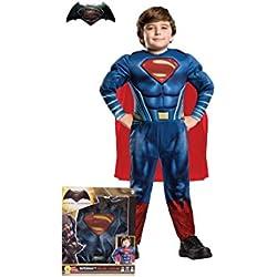 Superman - Disfraz, talla S, color rojo (Rubie's Spain 620432-S)