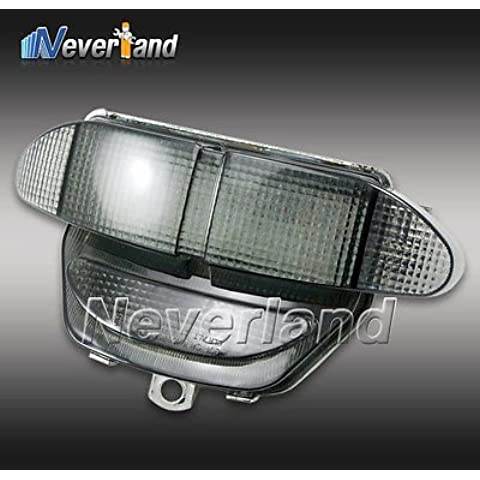 rowzy (TM) Nueva llegada motocicleta Integrado LED Tail Light Turn Signal para motocicleta Honda CBR 900RR 98–99nuevo