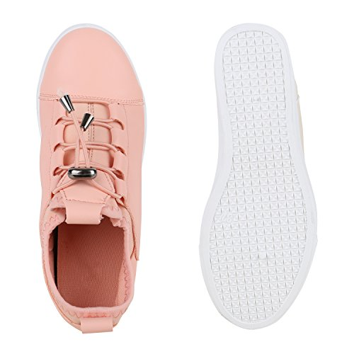 Sapatilhas Olhar Calcanhar Das Lazer Bianco de Senhoras Cunha 90 Sapatilha Da Cunhas rosa 1qRBtO
