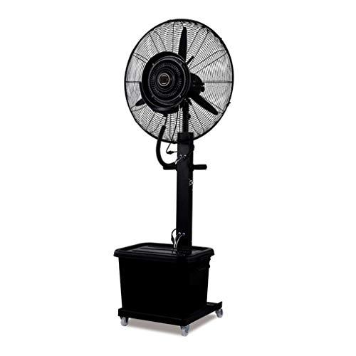 Ventilatori a piantana Altalena girevole del ventilatore ruotabile di 90 gradi Aggiunta di acqua nebulizzata Regolazione raffreddamento in fabbrica 3 Ingranaggio continuo 10 ore
