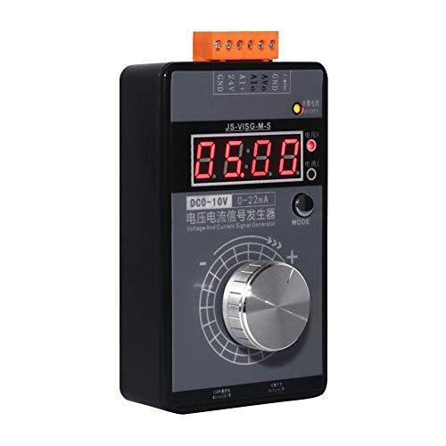 Koisy Digital- 0-10V Spannung Signal Generator 0-20mA Strom Sender Analog Simulator Analoge Sender