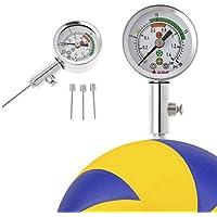 Lunji Calibre de pelota de entrenamiento Calibre de presión de aire para baloncesto de fútbol, voleibol