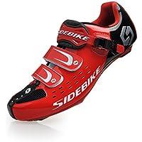Unisexe respirant chaussures de vélo professionnels pour route ou VTT