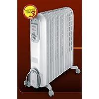 DeLonghi V550920 Color blanco - Calefactor (2000 W, 230 V, 140 x 450