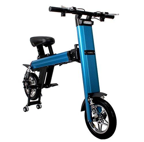 Bicicleta eléctrica plegable inteligente, Onebot T8 E-Bike bicicleta eléctrica plegable fácil y...
