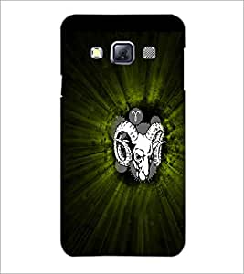 PrintDhaba Animal Image D-4739 Back Case Cover for SAMSUNG GALAXY A3 (Multi-Coloured)