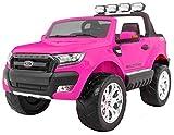 BSD Kinderauto Elektroauto Kinderfahrzeug Spielzeug Elektrofahrzeuge - New Ford Ranger 4x4 FaceLifting - Rosa