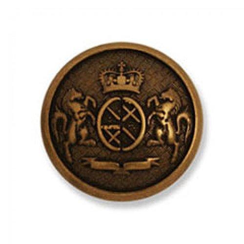Impex Military Metall Wappen Knöpfe Bronze-Pro 25Stück - Wappen-knöpfe