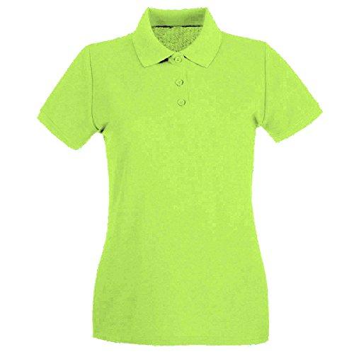 Uneek Clothing - Polo da donna, colore: verde bottiglia Verde