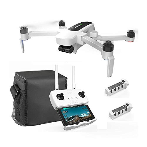 Hubsan Zino GPS FPV Faltbare Drohne 4K-Kamera mit 3-Achsen-Gimbal WiFi 1KM APP-Steuerung(Tragbare Version)