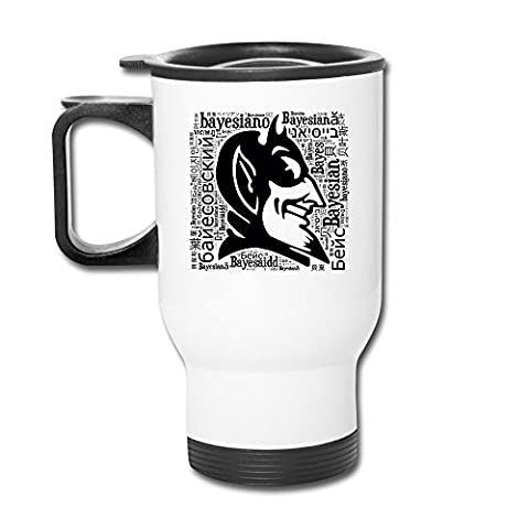 Cups Insulation White Duke University Duke Blue Devils Logo Coffee