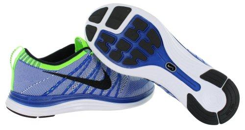 1586O sneaker NIKE FLYKNIT ONE blu/bianco scarpe uomo shoes men Blu/Bianco