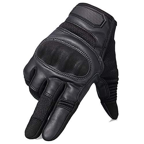 Guanti da moto touch screen Guanti da moto hard knuckle full finger e mezze dita per mount