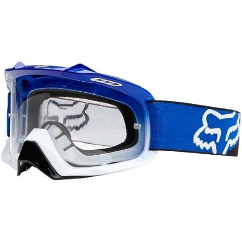 Fox Cross Gafas AIRSPC Race Blue/White Fade/transparente talla única