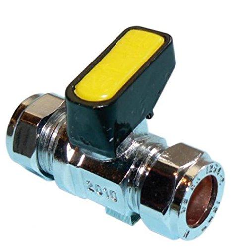Shut-off Ball Valve (8mm Metrogas Mini Lever Gas Ball Valve by Metrogas)