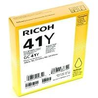Ricoh RIC22082 Cartucce d'Inchiostro, 500 Pagine, Giallo