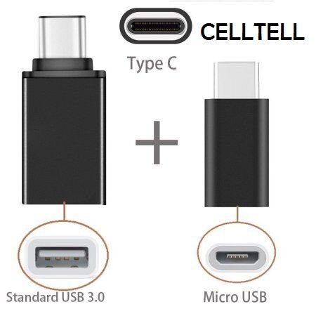 CELLTELL USB C- Type Connector Plus USB OTG Combo Compatible...