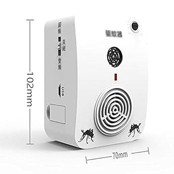 Krx USB Rechargeable en Plein air Rechargeable USB Insectes ultrasonique extérieur Portable avec Voiture Intelligente Machine à moustiques