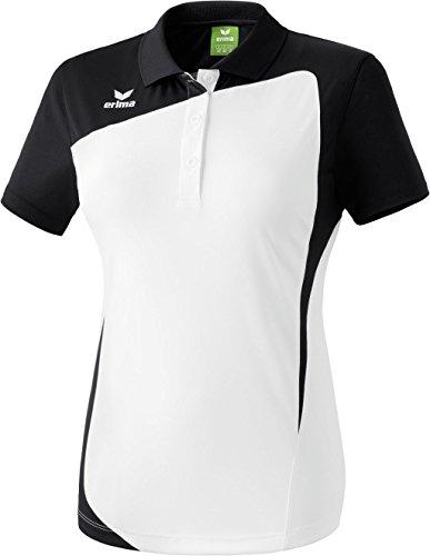Erima Oberkörper-Bekleidung Club 1900 Poloshirt, Weiß (weiß/schwarz), 38 (12 UK)