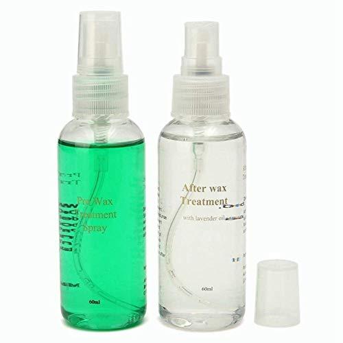 Natural Smooth Body Haarentfernungsspray, 2 Stück Set Schmerzfreie Wachsbehandlung Haarwachstumshemmer Ätherisches Öl Hilfsspray Für Körper Bein Achsel -