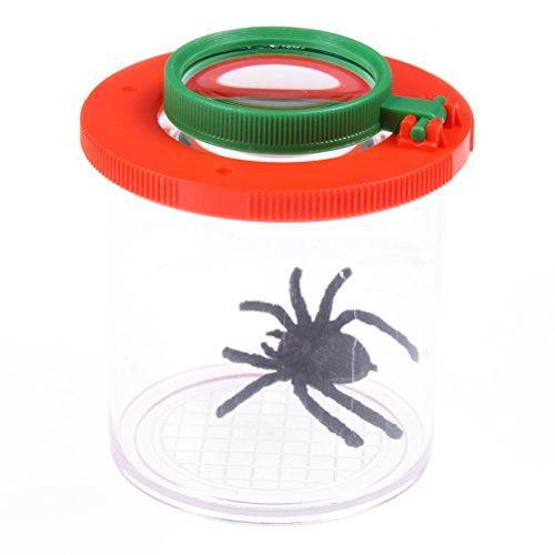 FADACAI 1Stk.Transparent Insekten-View Gläser Lupen Becher Lupendosen Entdeckerspielzeug...