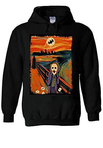 the-scream-joker-batman-heath-ledger-novelty-black-men-women-unisex-hooded-sweatshirt-hoodie-m