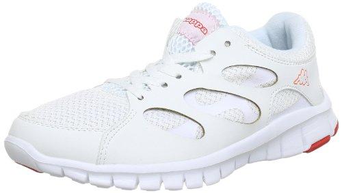 Kappa JIVE 241520 Damen Sneaker Mehrfarbig (1029 WHITE/CORAL 1029 WHITE/CORAL)