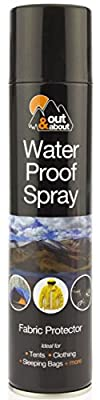 Waterproof Spray Ideal For Tent Sleeping Bags, Rucksacks, Shoes, Boots & Umbrellas Outing Fishing Camping Fabric Protector 300ml by Wilsons