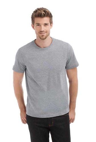 Hanes Herren T-Shirts , Crew Weiß