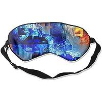 Sleep Eye Mask Newspaper Ice Square Lightweight Soft Blindfold Adjustable Head Strap Eyeshade Travel Eyepatch preisvergleich bei billige-tabletten.eu