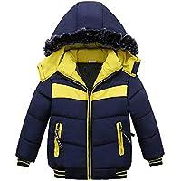 Vestido Bebe Niña,Vestidos Bebe Niña Invierno,Chlidren Boys Winter Warm Coats Chaqueta Kid Zipper Thick Hoodie Ropa De Abrigo Ropa